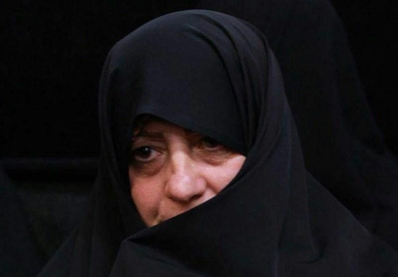 خواهر مسیح علی نژاد: تا پای جان از ارزشهای اسلامی و حریم ولایت فقیه دفاع میکنیم