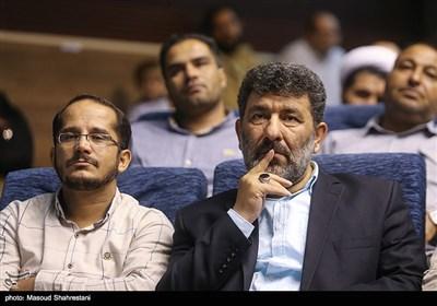 سعید حدادیان در رونمایی از کتاب (مربع های قرمز)خاطرات حاج حسین یکتا