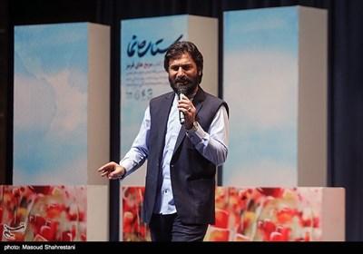 شعرخوانی صابر خراسانی در رونمایی از کتاب (مربع های قرمز)خاطرات حاج حسین یکتا