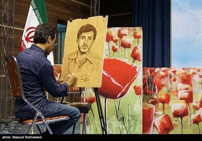 رونمایی از کتاب (مربع های قرمز)خاطرات حاج حسین یکتا