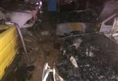 4 دستگاه خودرو در خرمآباد دچار حریق شد