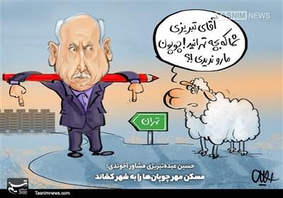 کاریکاتور/ ادامه بیمهری با مسکن مهریها!