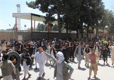 تعلیق فعالیت های انتخاباتی در پی تظاهرات ضد دولتی در شمال افغانستان