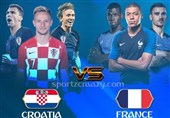 جام جهانی 2018| شور و شوق در پاریس و زاگرب در آستانه دیدار فینال