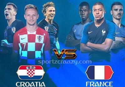جام جهانی 2018| فرانسه - کرواسی؛ فینال شطرنجی در سرزمین کاسپاروف