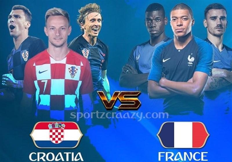 جامجهانی 2018| فرانسه - کرواسی؛ فینال شطرنجی در سرزمین کاسپاروف