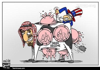 کاریکاتور/ گاو «9 هزار مَن» شیرده!!!