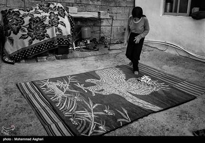 استان مازندران-شهرستان کیاسر-روستای چورت-مرضیه قاسمی 38 ساله او از کودکی معلولیت ذهنی و جسمی دارد.پدر و مادر او فامیل درجه سه هستند.