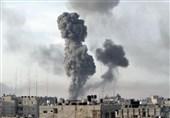 3 إصابات فی قصف إسرائیلی على غزة
