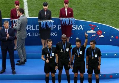 تقدیر وزارت ورزش از تیم داوری ایران در جام جهانی + تصاویر