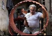 طنین صدای چکش مسگران استان مرکزی در طول تاریخ + فیلم