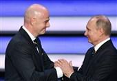 جام جهانی 2018| پوتین: فوتبال میلیونها نفر را در جهان متحد کرد/ اینفانتینو: 2 اتفاق خوب برای روسیه افتاد