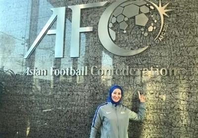 معصومه شکوری ناظر مسابقات فوتبال دختران آسیا شد