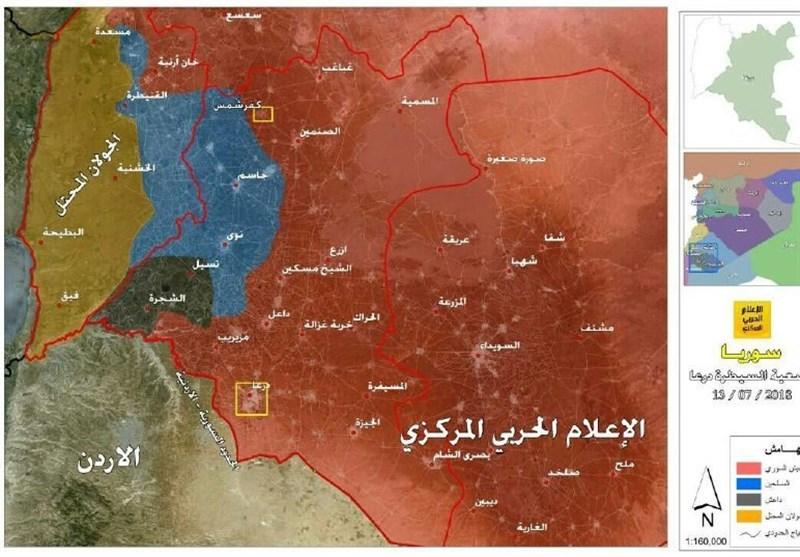 گزارش تسنیم-1 |پشت پرده پاکسازی سریع جنوب سوریه از تروریسم؛ ماشین «مصالحه» پیشروی میکند؟
