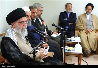 مثال فوتبالی امام خامنهای برای اعضای دولت؛ گل خوردیم اما همه تیم ما را تایید کردند