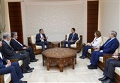 Assad, Iranian Diplomat Discuss Syria Developments