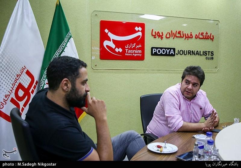 ابوالفضل صفری تهیه کننده و حسین کلهر نویسنده و کارگردان برنامه تلویزیونی وقتشه