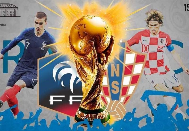 جام جهانی 2018| ترکیب اصلی فرانسه و کرواسی مشخص شد