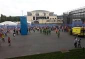گزارش خبرنگار اعزامی تسنیم از روسیه| آمادهسازی ورزشگاه لوژنیکی برای مراسم اختتامیه جام جهانی + عکس