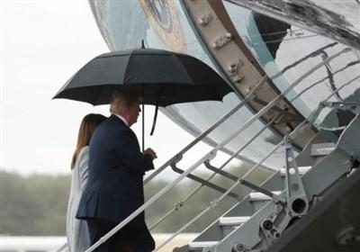 ترامپ بریتانیا را به مقصد فنلاند ترک کرد