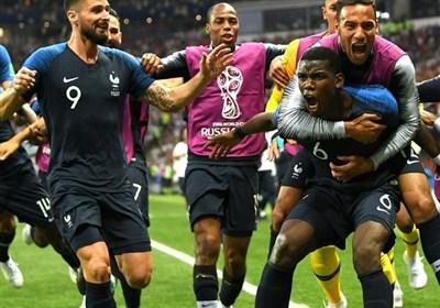 جام جهانی 2018| فرانسه قهرمان شد/ ستاره دوم روی پیراهن خروس ها نقش بست