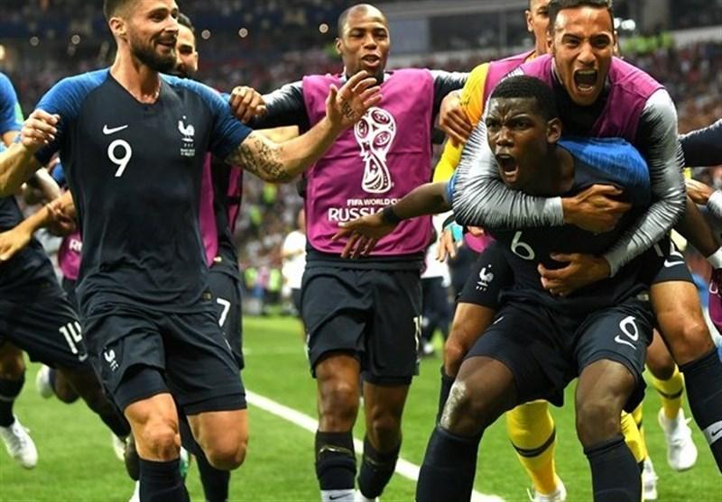 جام جهانی 2018| فرانسه قهرمان شد/ ستاره دوم روی پیراهن خروسها نقش بست