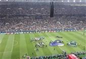 گزارش خبرنگار اعزامی تسنیم از روسیه| دور افتخار فرانسویها در ورزشگاه/ تونل بازیکنان فرانسه برای کرواتها