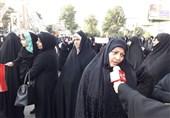 تهران| وقتی بانوان دیار 15 خرداد در دفاع از حریم خانواده به پا میخیزند