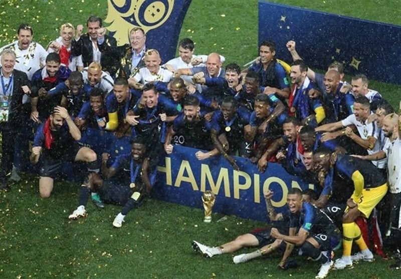 جام جهانی 2018| جشن قهرمانی فرانسه