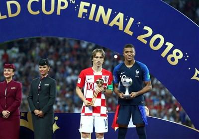 جام جهانی 2018| مودریچ بهترین بازیکن و امباپه بهترین بازیکن جوان جام شدند/ دستکش طلایی به کورتوا رسید/ اسپانیا؛ تیم جوانمرد