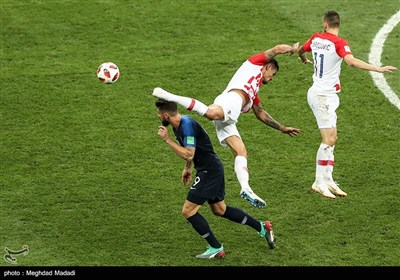 نهائیات کأس العالم 2018 - روسیا: فرنسا x کرواتیا / 2