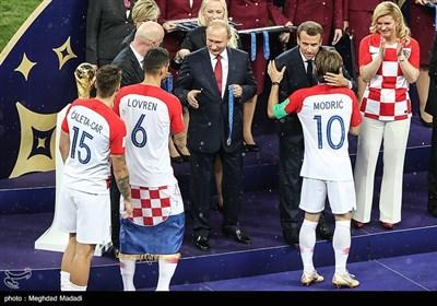 نهائیات کأس العالم 2018 - روسیا: فرنسا x کرواتیا
