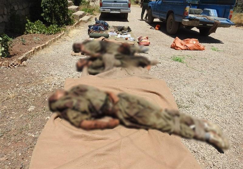 انهدام تیم تروریستی ضدانقلاب در استان کردستان/ 5تروریست به هلاکت رسیدند/ اشرار قصد خرابکاری داشتند