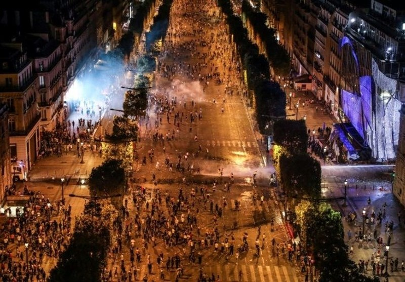 France's World Cup Winning Celebrations Marred with Violent Clashes with Police (+Video)