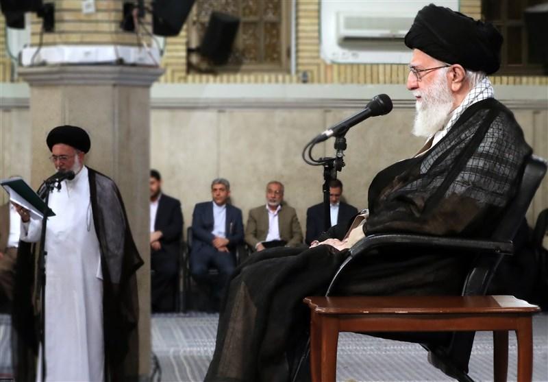 دستاندرکاران و کارگزاران حج با امامخامنهای دیدار کردند
