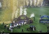فرانسیسی کھلاڑیوں کا چیمپئن بننے کے بعد جشن