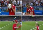 جام جهانی 2018|پرتاب اوت محمدی در فهرست لحظات جالب جام بیست و یکم از نگاه مارکا