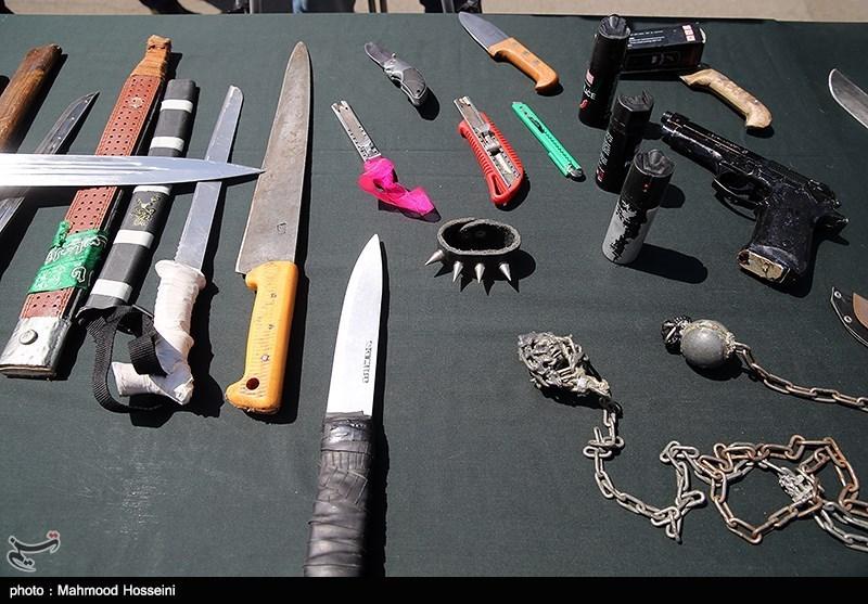 البرز| اجرای طرحهای پاکسازی و برخورد با اخلالگران نظم در ساوجبلاغ؛ دستگیری59 نفر سارق