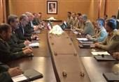 پاک ایران افواج کے سربراہوں کی ملاقات میں باہمی عکسری تعاون پر تاکید