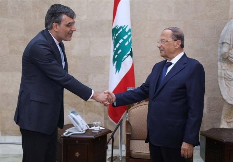Senior Iranian Diplomat, Lebanese President Meet in Beirut