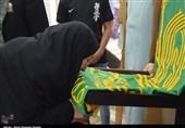 کرمانشاه  حضور سفیران آفتاب هشتم در منزل شهیده راه مهربانی