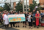 US: Hundreds of People Protest against ICE in DC