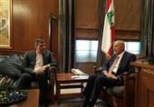 دیدار جابری انصاری با رئیس مجلس و وزیر خارجه لبنان