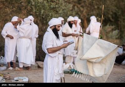 مراسم غسل تعمید صابئین مندایی در اهواز