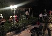 نجات معجزهآسای مرد جوان پس از سقوط به چاه 50 متری + تصاویر