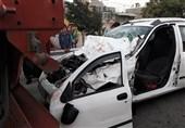 تصادف خونین تیبا با کامیون در بزرگراه آزادگان + تصاویر