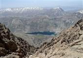 Oshtoran Kooh Mountain, in Western Iran