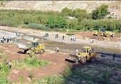 قزوین  واحدهای مسکونی ساخته شده در بستر رودخانه در خطر سیلاب هستند