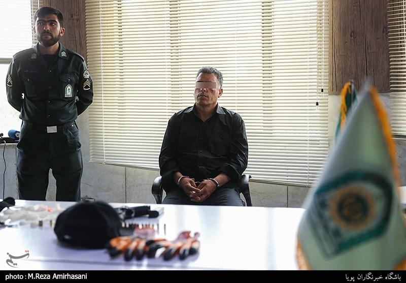 دستگیری سارق مسلح بانک ملی