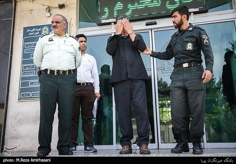 فیلم و تصاویر/ لحظه سرقت مسلحانه از بانک ملی و بازداشت سارق